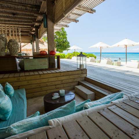 Piazza sea view and loungers