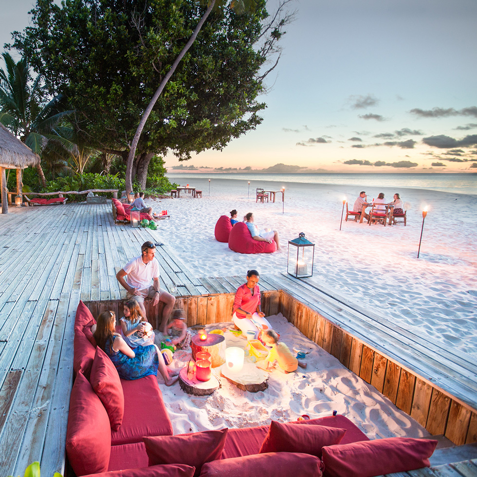 Bask in the last rays of the sun with a sun downer at West Beach Bar