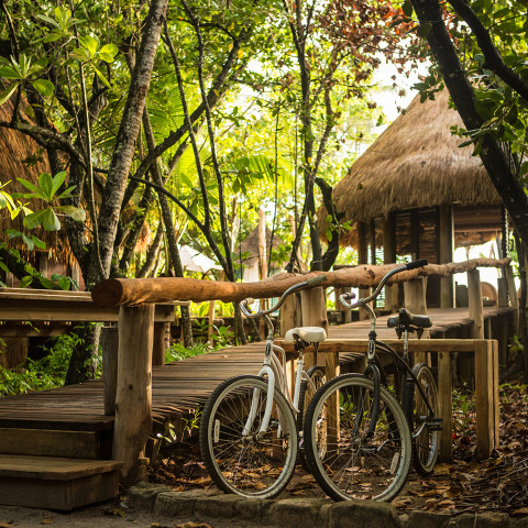 the relaxed pace of Island life may just turn your ride into a Tour de Trance