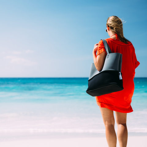 Look stylish while you stroll down the white beaches of North Island