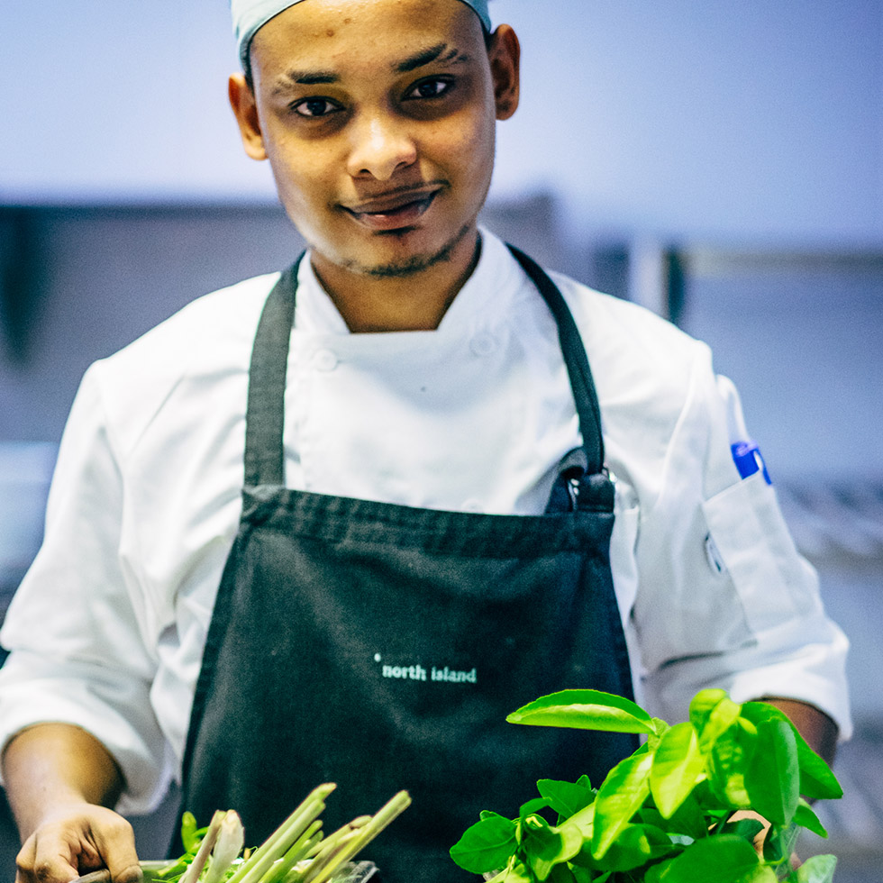 Fresh produce is used by our outstanding staff to produce only the best fine dining options for our guests