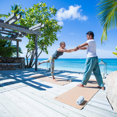 Stretch away the stresses of modern life in our private yoga classes